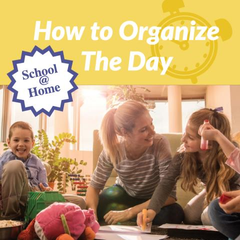 Organize the day